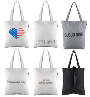 Everyday Tote Pack- 12 Assortment Totes