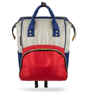 Red, White and Blue Baby Backpack