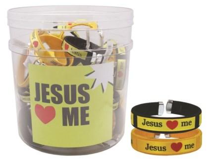 Jesus Loves Me Bracelets