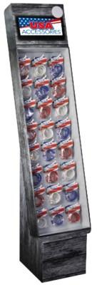 USA Patriotic Wristbands Shipper - 144pc