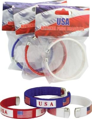 Carded USA Bracelet