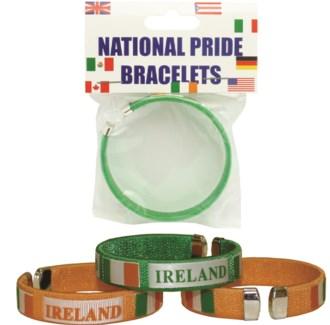 Carded Ireland National Pride Bracelet