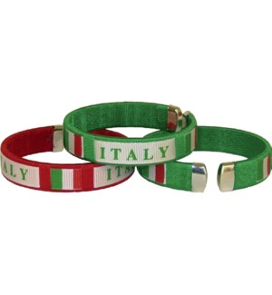 National Pride Bracelet - Italy (Carded Available)