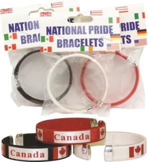Carded Canada Bracelet