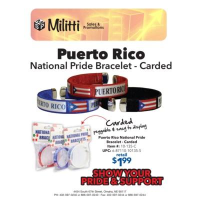 Carded Puerto Rico Bracelet