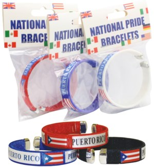 Carded Puerto Rico Bracelet