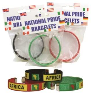 Carded Africa Bracelet
