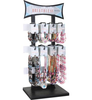 Breathless Shell Bracelet and Necklace 96pc Display