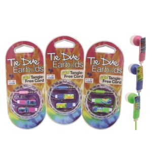 """It's All Good"" Tie Dye Earbuds"
