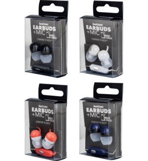 Soulzone Earbuds with Mic