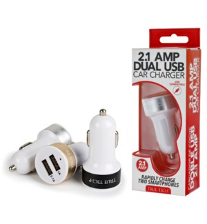 2.1 Amp Dual USB Car Charger
