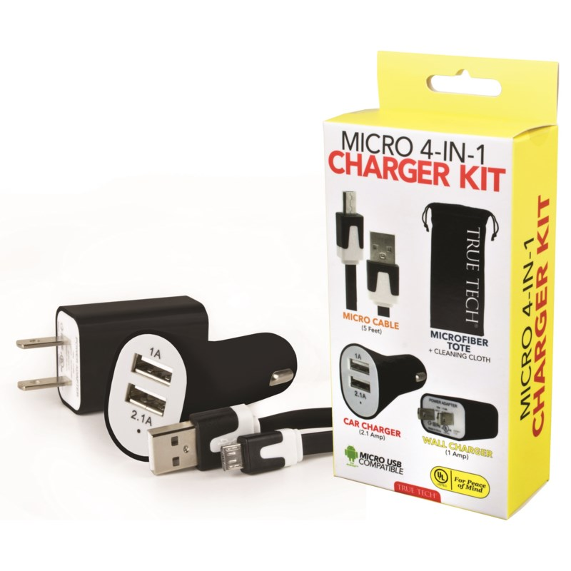 Micro 4-in-1 Charger Kit