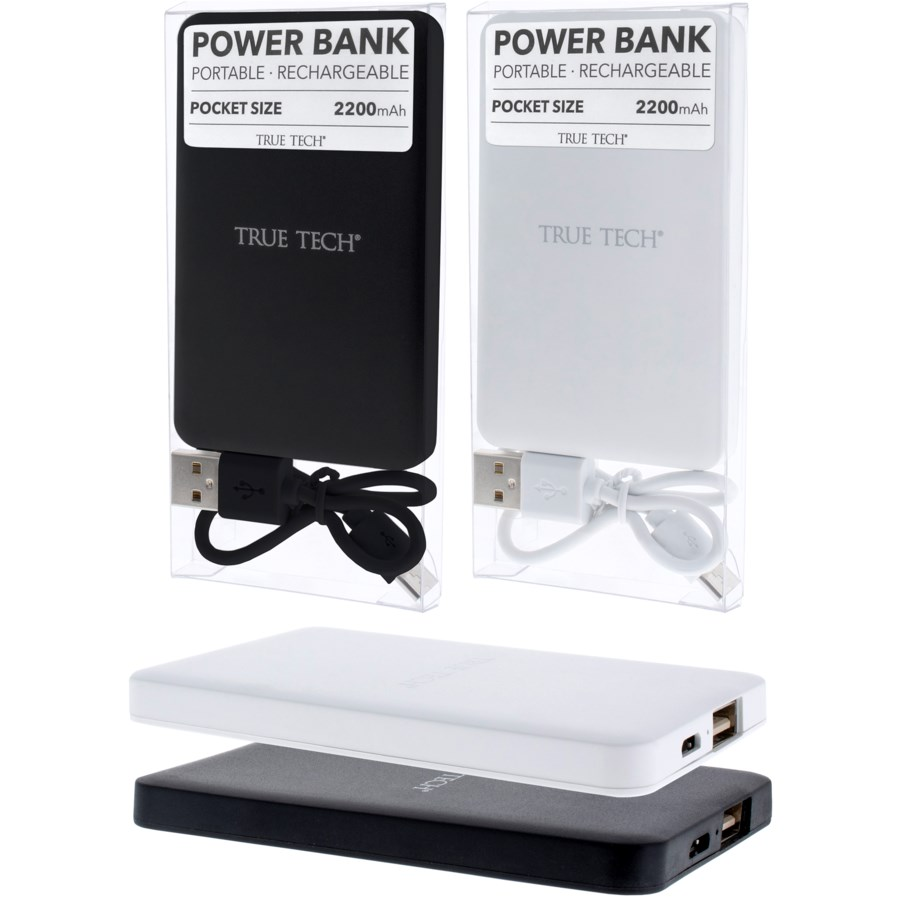 Slim 2200 mAh Power Bank