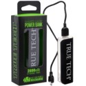 2600 mAh Rubberized Power Bank