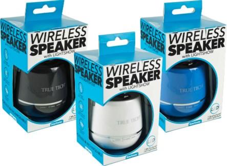 Wireless Speaker with Lightshow