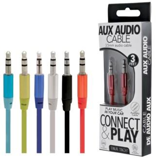 AUX Audio Cable - 3 ft