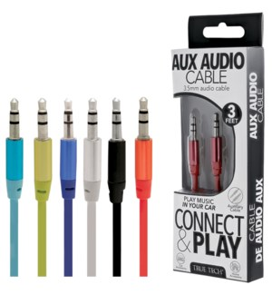 AUX Audio Cable - 3 FT