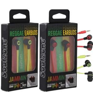 Jammin' Reggae Earbuds