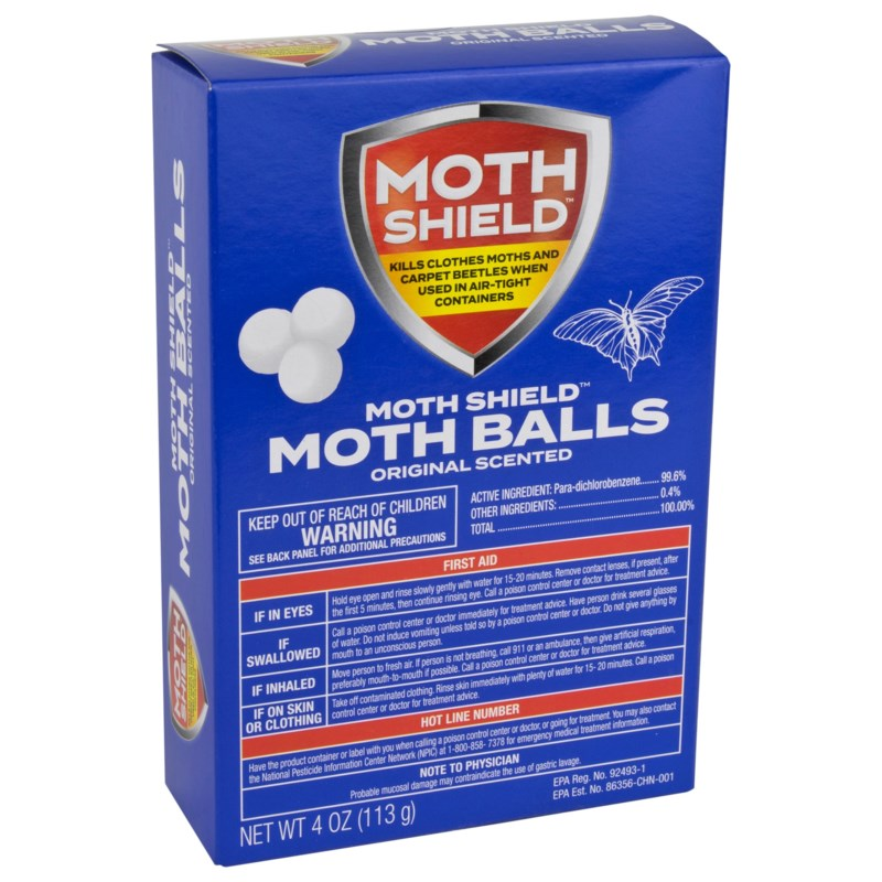 Moth Balls 4oz Original Scented