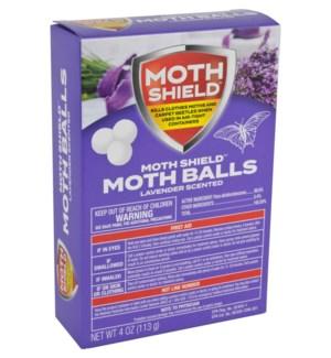Moth Balls 4oz Lavender Scented