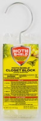 Closet Deodorizer 5oz Lemon