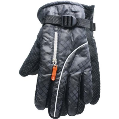 Zipper Ski Gloves