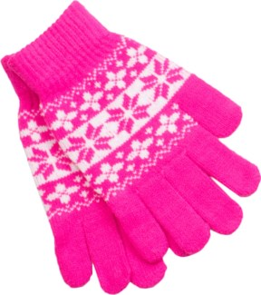 Gloves Pink/White - Stadium Series