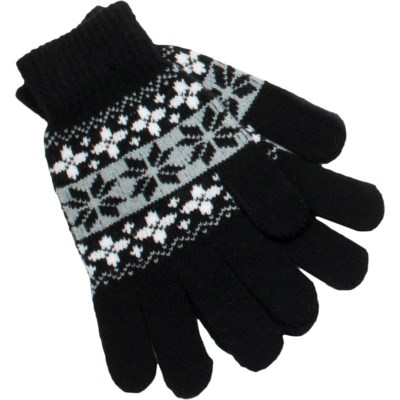 Gloves Black/White/Gray - Stadium Series