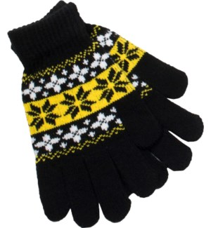 Gloves Black/Gold/White - Stadium Series