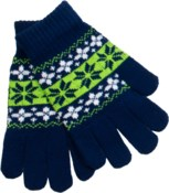 Gloves Blue/Green/White - Stadium Series