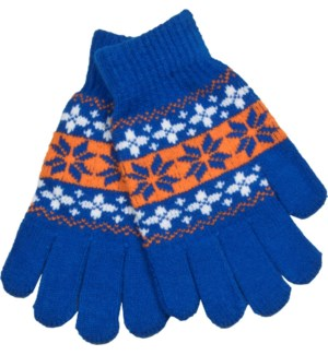 Gloves Blue/Orange/White - Stadium Series