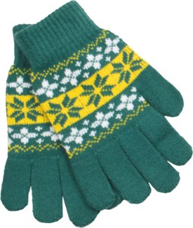 Gloves Green/Gold/White - Stadium Series