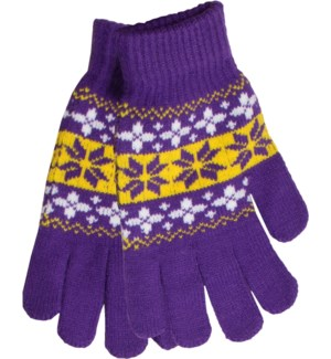 Gloves Purple/Gold/White - Stadium Series