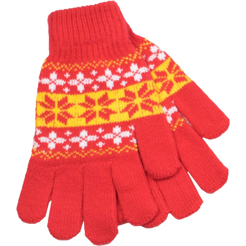 Gloves Red/Gold/White - Stadium Series