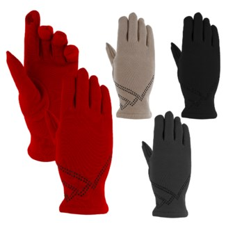 Fashion Gloves with Shimmer Pattern - Sold out for the season!