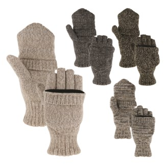 Lined Convertible Mittens