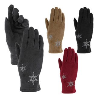 Snowflake Texting Gloves