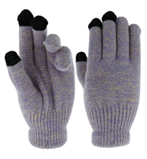 Team Spirit Touch Gloves - Purple/Gold