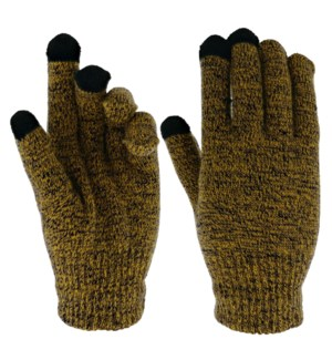 Team Spirit Touch Gloves - Black/Gold