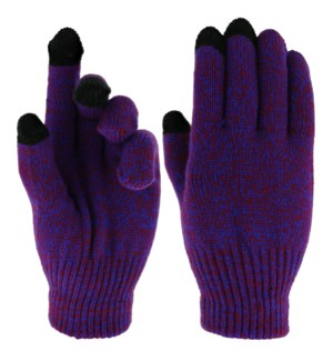 Team Spirit Touch Gloves - Blue/Red