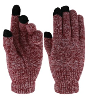 Team Spirit Touch Gloves - Crimson/White