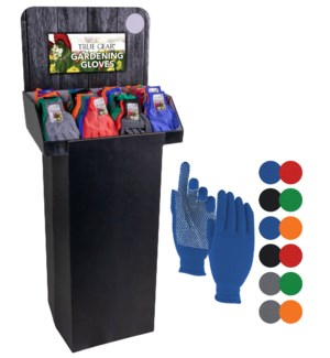 Gardening Gloves Display - 180pcs