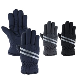 Reflective Water Resistant Men's Gloves