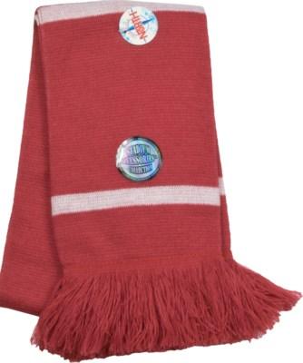Scarf with Fringe Crimson/White  - Stadium Series