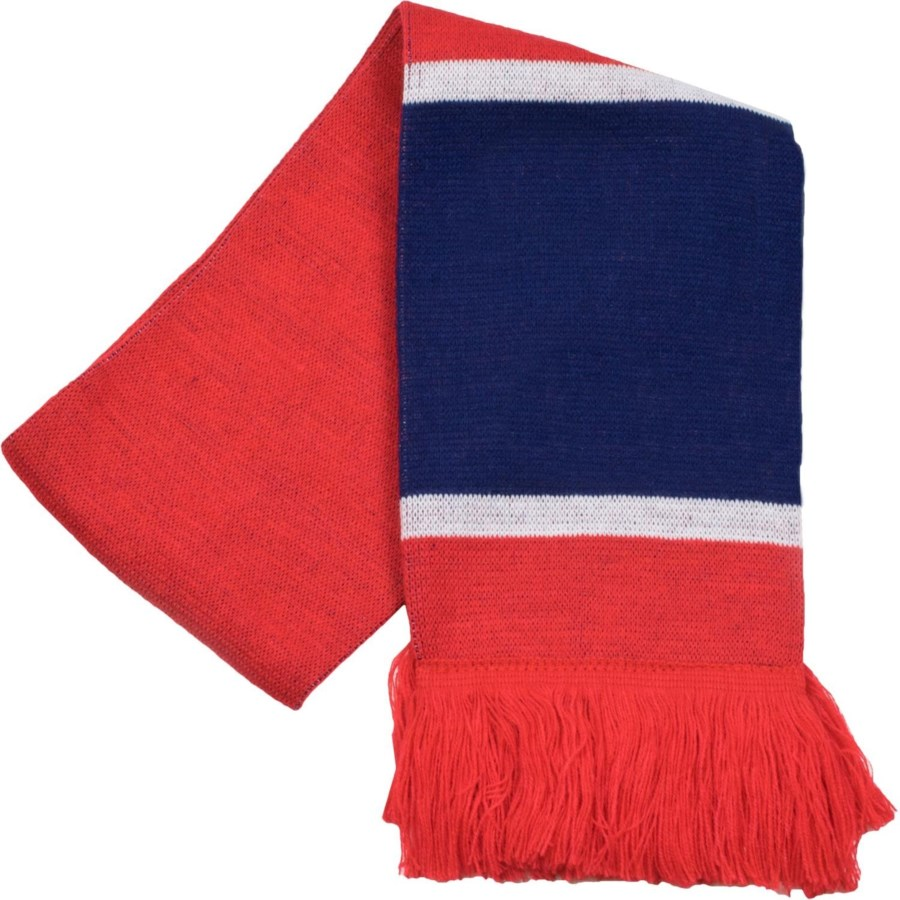Scarf with Fringe Navy/Red/White  - Stadium Series