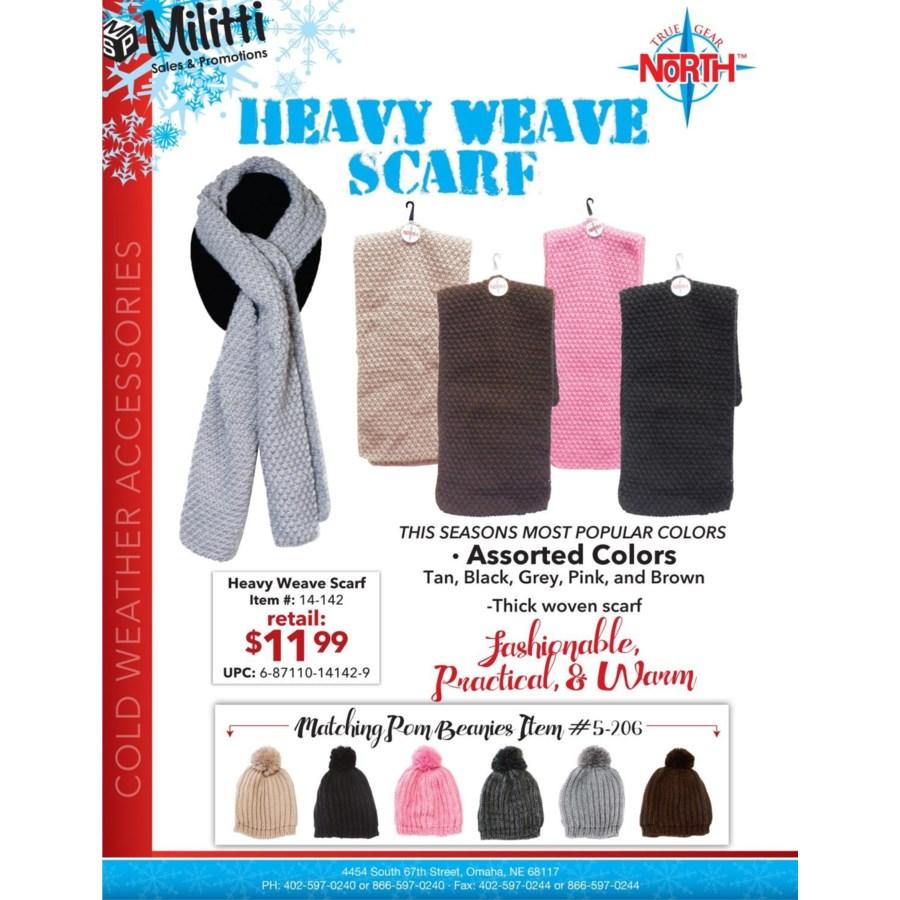 Heavy Weave Scarf
