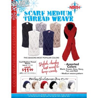 Medium Weave Scarf
