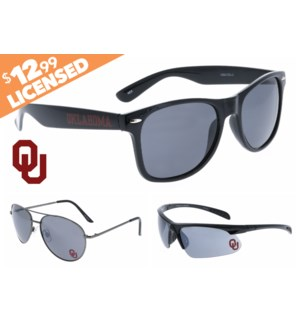 Oklahoma NCAA® Sunglasses Promo