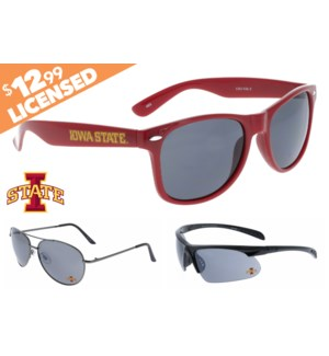 NCAA® Sunglasses Promo - Iowa State