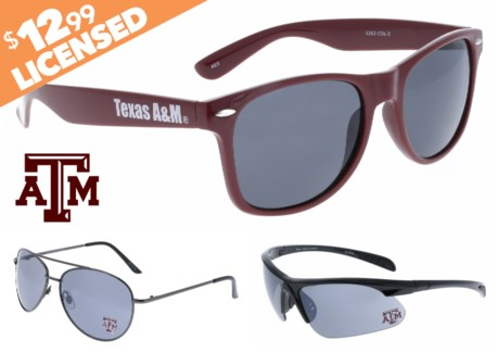 NCAA Sunglasses Promo  - Texas A&M
